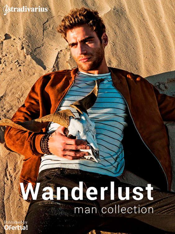 Ofertas de Stradivarius, Wanderlust. Man collection