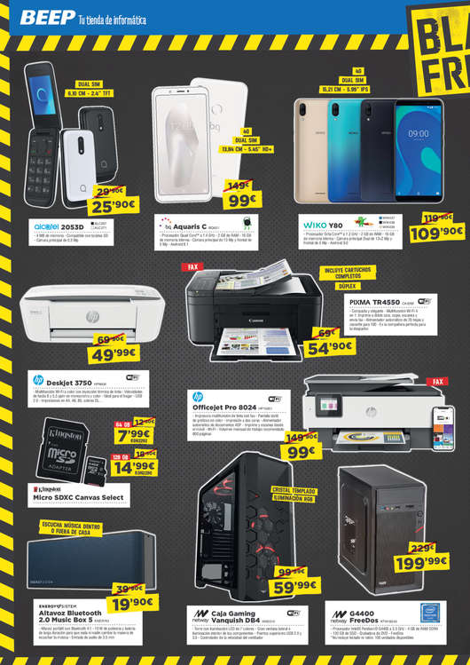 Ofertas de Beep, Black Friday