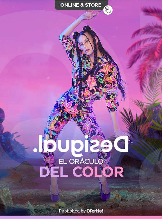 Ofertas de Desigual, El Oráculo del Color - Tropical, creativa y exuberante