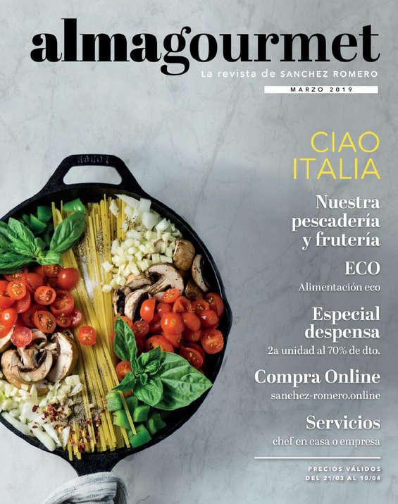 Ofertas de Supermercados Sánchez Romero, Revista