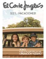Ofertas de El Corte Inglés, 3,2,1... ¡Vacaciones!