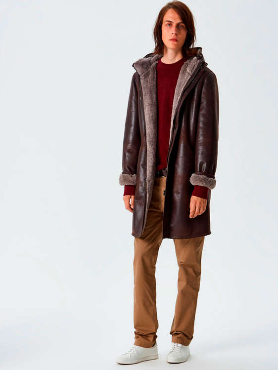 Comprar abrigos de piel baratos