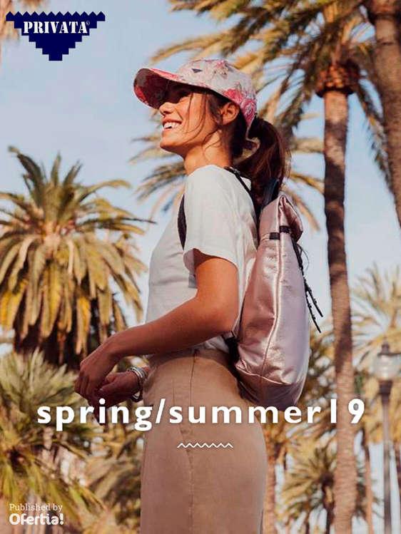 Ofertas de Privata, Spring Summer 19