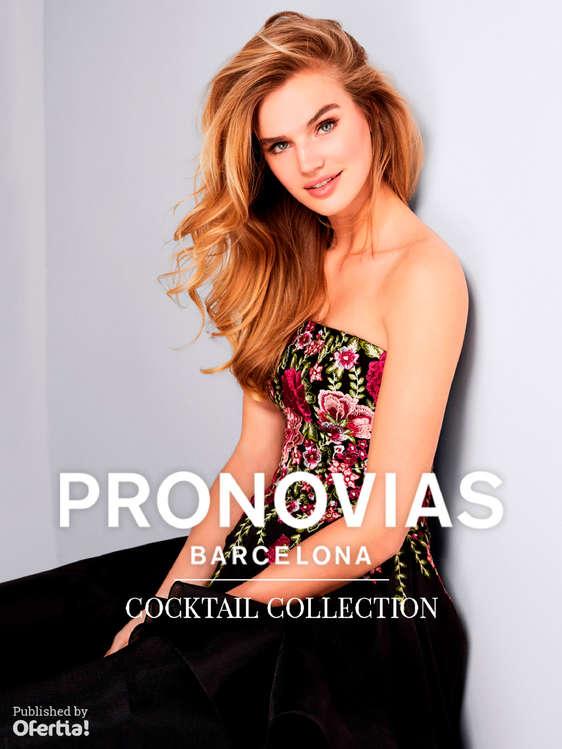 Ofertas de Pronovias, Cocktail Collection