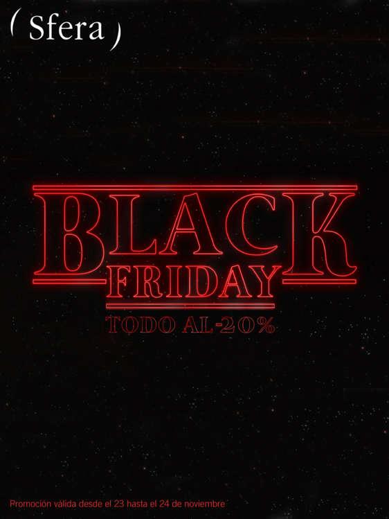 Ofertas de ( Sfera ), Black Friday. Todo al -20%