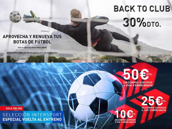 Ofertas de Intersport, Promo Intersport