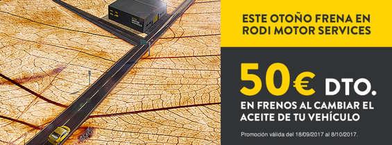 Ofertas de Rodi, 50€ de descuento