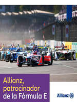 Ofertas de Allianz, Patrocinador de la Fórmula E