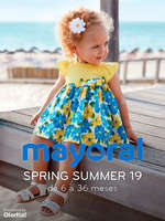 Ofertas de Mayoral, Spring Summer 19. De 6 a 36 meses