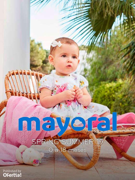 Ofertas de Mayoral, Spring Summer 19 - De 0 a 18 meses