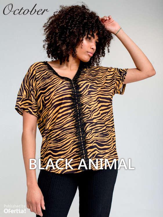 Ofertas de October, Black Animal