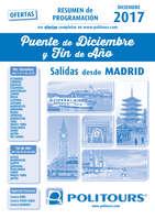 Ofertas de Linea Tours, Puente de diciembre y Fin de Año