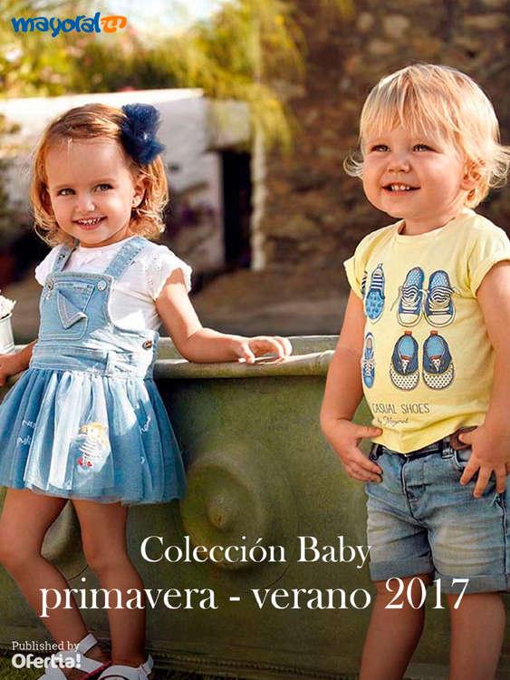 Ofertas de Mayoral, Colección Baby. Primavera-Verano 2017