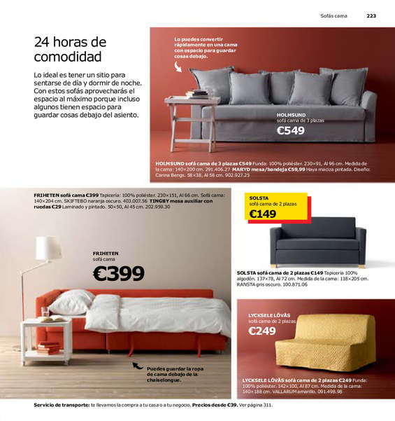 Sofas camas madrid great muebles cama sof camas sof for Ofertas tresillos