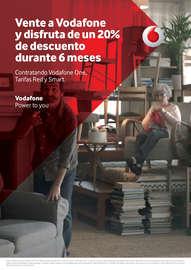 Vente a Vodafone y disfruta de un 20% de descuento durante 6 meses