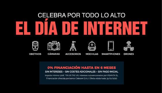 Ofertas de Visanta, Día de internet
