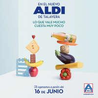 En el nuevo Aldi de Talavera, lo que vale mucho cuesta muy poco