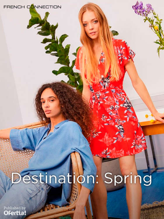Ofertas de French Connection, Destination Spring