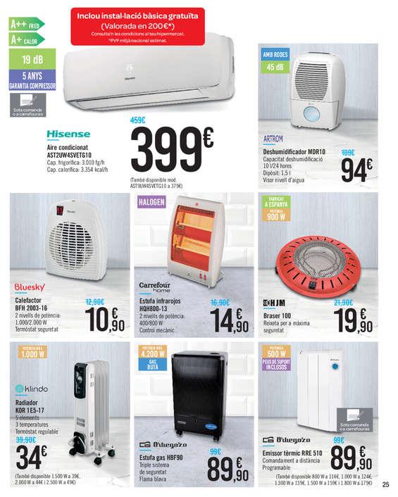 Comprar estufas barato en girona ofertia - Emisor termico carrefour ...