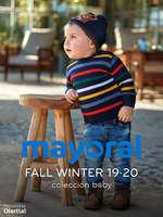 Ofertas de Mayoral, FW 19-20. Colección baby