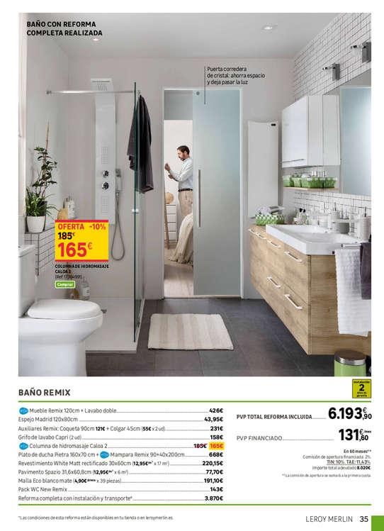 catalogo de leroy merlin baos excellent leroy merlin radiador toallero nuevo accesorios de bao. Black Bedroom Furniture Sets. Home Design Ideas