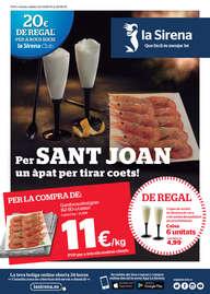 Per Sant Joan un àpat per tirar coets!