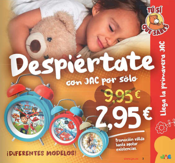 Ofertas de Supermercados Dani, Despiértate