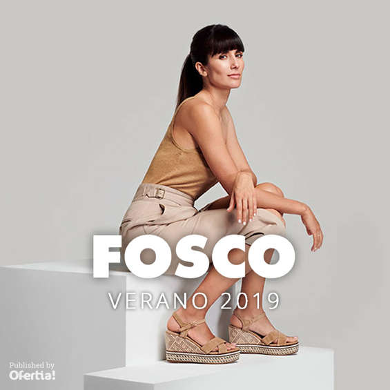 Ofertas de FOSCO, Verano 2019