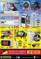 Ofertas de Kyoto Electrodomésticos, Liquidación