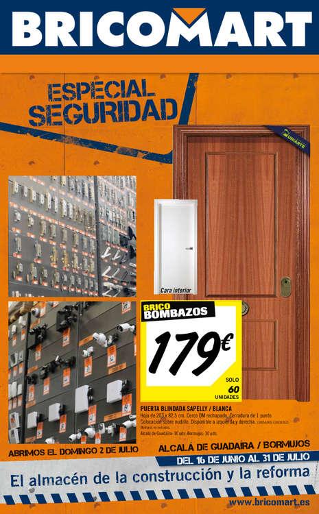 Ofertas de Bricomart, Especial seguridad - Sevilla