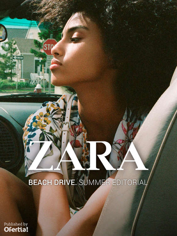 Ofertas de ZARA, Beach Drive. Summer Editorial