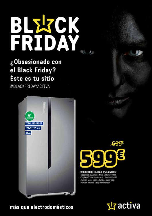 Ofertas de Activa Hogar, ¿Obsesionado con Black Friday?