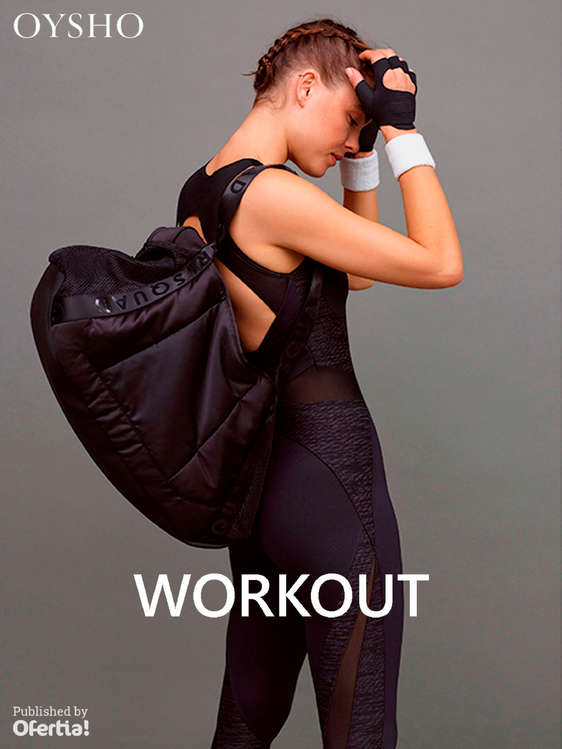 Ofertas de Oysho, Workout