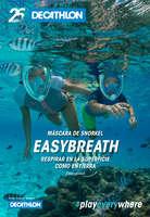 Ofertas de Decathlon, Respirar en la superficie como en tierra - Easybreath