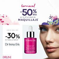 -50% dto. en el segundo maquillaje