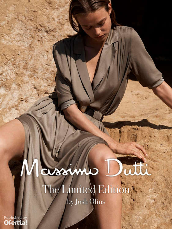 Ofertas de Massimo Dutti, The Limited Edition by Josh Olins