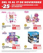 Ofertas de Carrefour, -25% en juguetes