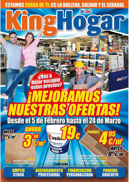 King hogar ofertas cat logo y folletos ofertia - Leroy merlin gran canaria catalogo ...