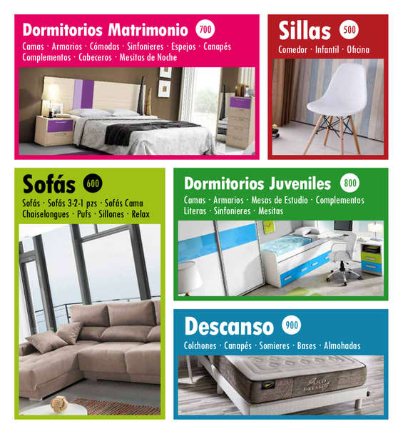 Ofertas rapimueble excellent armario separador dormitorio for Dormitorios rapimueble
