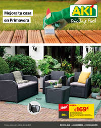 Mejora tu casa en primavera