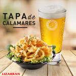 Ofertas de Lizarran, Tapa de Calamares