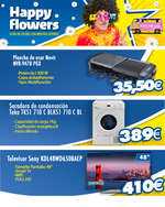 Ofertas de Euronics, Happy flowers