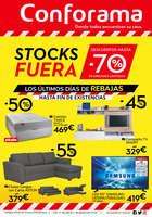 Ofertas de Conforama, Stocks Fuera