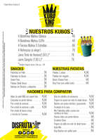 Ofertas de Kubo King, Carta