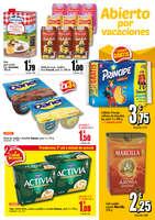 Ofertas de Supermercados Gama, Abierto por vacaciones