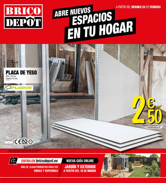 Bricodepot ofertas cat logo y folletos ofertia for Folletos de muebles