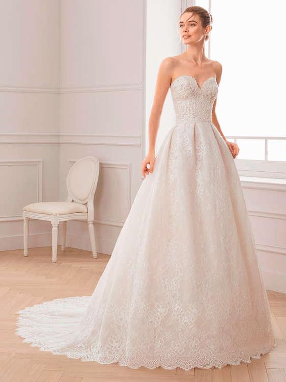 comprar vestidos de novia palabra de honor barato en talavera de la