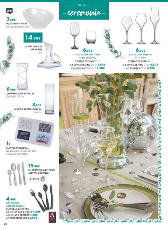 Ofertas de E. Leclerc, Coleccion mesa y cocina PV-2019