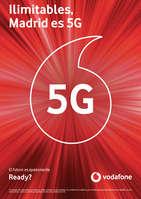 Ofertas de Vodafone, Ilimitables, Madrid es 5G