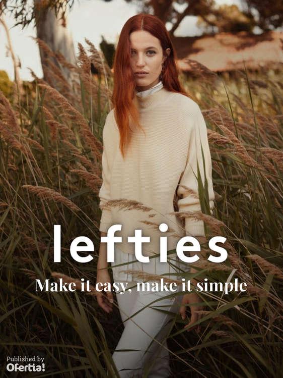 Ofertas de Lefties, Make it easy, make it simple